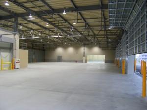 OAS航空 倉庫写真